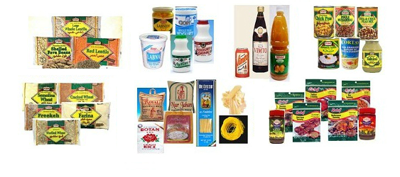 D. We also offer many canned, bottled & bagged items
